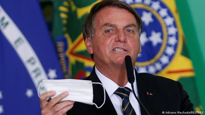 Brasilien Coronavirus l Präsident Bolsonaro