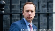 Matt Hancock affair accusations. File photo dated 9/4/2020 of Matt Hancock who has resigned as Health Secretary in a letter to Boris Johnson where he says the Government owe it to people who have sacrificed so much in this pandemic to be honest when we have let them down. Issue date: Saturday June 26, 2021. See PA story POLITICS Hancock. Photo credit should read: Aaron Chown/PA Wire URN:60590867
