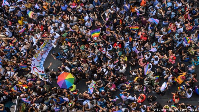 Türkei I Pride Parade in Istanbul