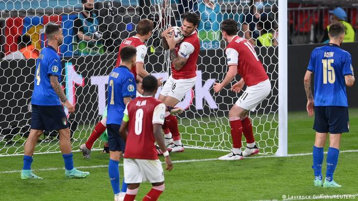 ساسا كالادزيتش سجل هدف منتخب النمسا الوحيد في الدقيقة 114.
