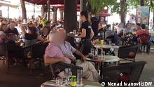 Kroatien | Terasse eines Cafés in Pula