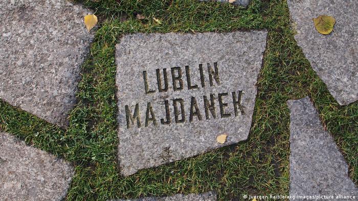 Berlin Denkmal Lubjin Majdanek
