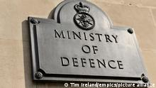 MoD documents found at bus stop. Undated file photo of the sign for the Ministry of Defence in London. Sensitive defence documents containing details about HMS Defender and the military have been found by a member of the public at a bus stop in Kent early on Tuesday morning, according to reports. The MoD said the employee concerned with the loss of documents reported it last week, and the department has launched an investigation. Issue date: Sunday June 27, 2021. See PA story DEFENCE Leak. Photo credit should read: Tim Ireland/PA Wire URN:60602938