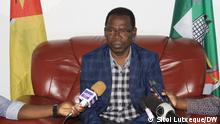 Statement Nampula's Mayor Paulo Vahanle Author: Sitoi Lutxeque, DW Place: Nampula, Mozambique Date: 27.06.2021 Paulo Vahanle, autarca of Nampula.