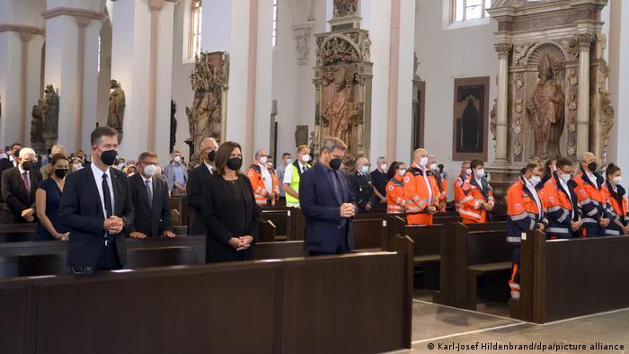 Würzburg Gedenkgottesdienst im Kiliansdom