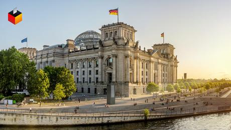 Рейхстаг - здание бундестага ФРГ