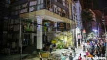 At least seven people have been killed and dozens injured in the collapse of a building after an explosion in Moghbazar, one of the most crowded areas in Dhaka. Where taken: In Dhaka When taken: Today