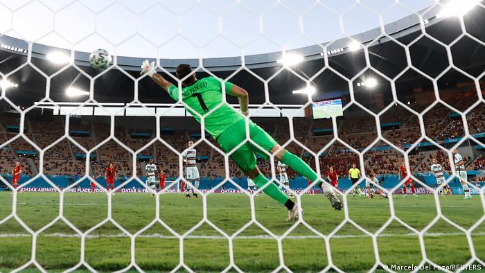 EURO 2020 | Belgien vs Portugal | Tor Thorgan Hazard