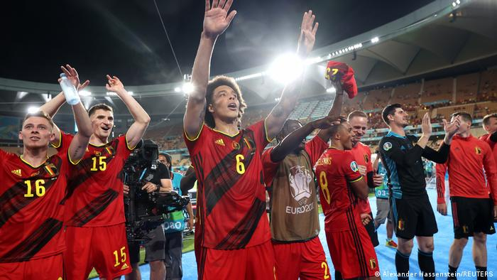 Бельгийцы одержали верх в матче за выход в 1/4 финала