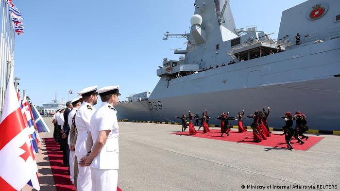 MS Defender Batumi Marea Neagră