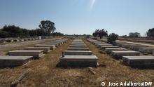 Denkmal Krieg Cuito, 28 Juni Angola. Campas das vítimas do da guerra do Cuito, que jazem no Cemitério Memorial do Cuito 1 via Taina de Oliveira