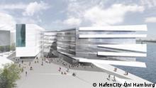 Entwurf des HCU Neubaus in der HafenCity, Code Unique Architekten, Dresden, Foto: HafenCity Uni Hamburg, eingepflegt: Juli 2010
