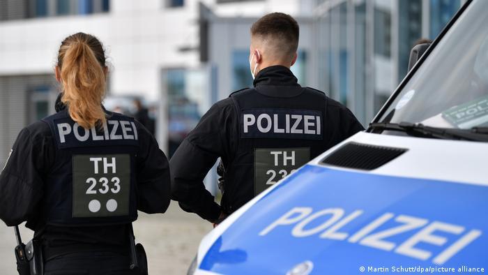 Symbolbild Erfurt Polizei