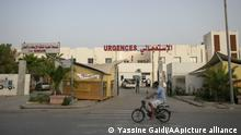 TUNIS, TUNUSIA - JUNE 22: A view of Ibn Jarrah hospital at quarantined Kayravan province of Tunis, Tunisia on June 22, 2021. 4 provinces in Tunisia including Kayravan in the central part of the country, Silyana and Bace in the northwest, and Zagvan province in the south of the capital quarantined due to serious increase in Covid-19 cases. Yassine Gaidi / Anadolu Agency