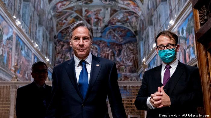 Rom Antony Blinken Vatikan Besuch Papst Franziskus