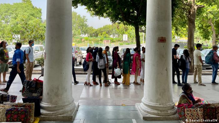 Delhi residents step out as India's capital reopens after weeks of a coronavirus-induced lockdown