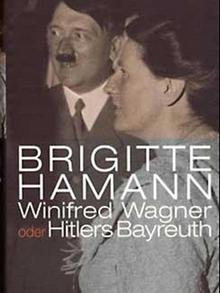 Book cover: 'Winifried Wagner - Hitler's Bayreuth'