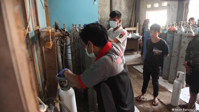 Agen isi ulang tabung oksigen di Bandung