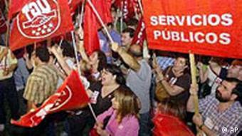 Generalstreik in Spanien