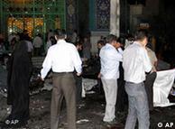 ترور و خشونت  در استان سیستان و بلوچستان در سالهای اخیر گاه و بیگاه اتفاق افتاده  است- عکس از نفجار در مسجدی در زاهدان در تیرماه ۱۳۸۹