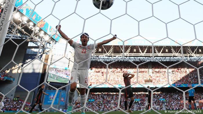 EURO 2020 | Kroatien vs Spanien | Tor Morata