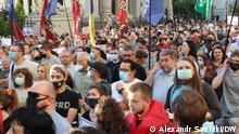 Anti-Regierungsproteste in Kiew DW, Alexandr Sawizki in Kiew am 28.06.2021