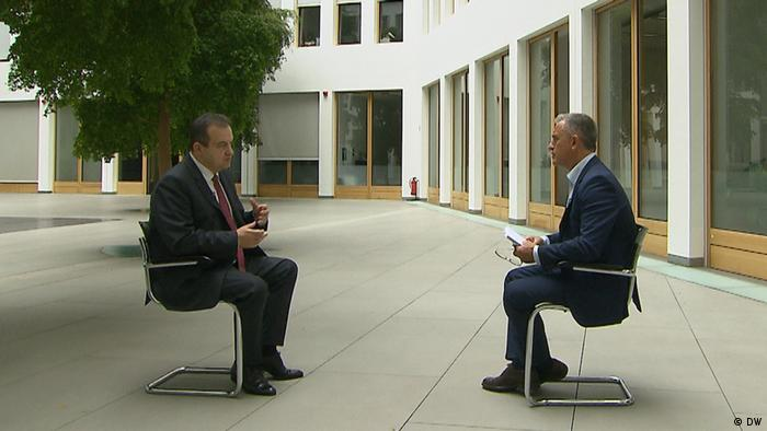 Ivica Dacic-DW Interview