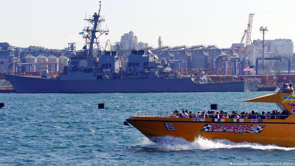 Sea Breeze: Ukraine, Us Black Sea Drills Raise Tensions With Russia    Europe  News And Current Affairs From Around The Continent   Dw   29.06.2021