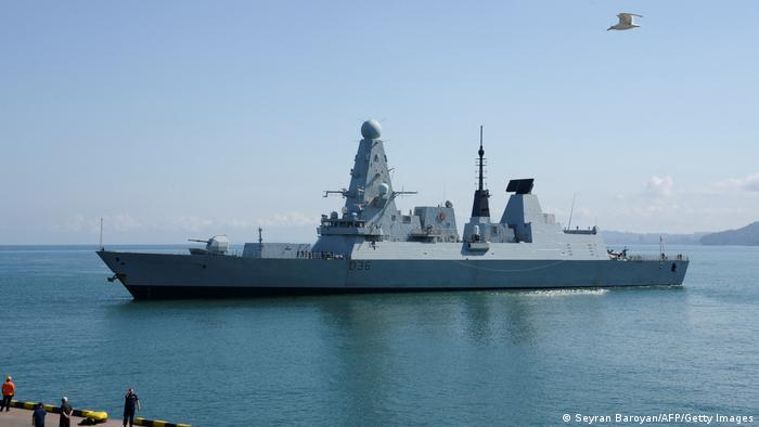 Georgien Batumi | HMS Defender, britischer Zerstörer