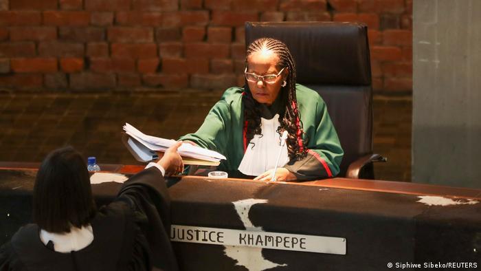 Sisi Khampepe ist seit 2009 Richterin am Verfassungsgericht Südafrikas