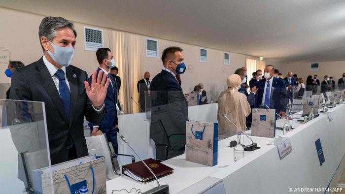 Italien Matera | Treffen G20-Außenminister | Blinken