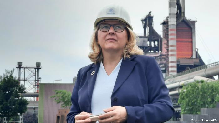 Deutschland Zeche Zollverein |Sommerreise mit Umweltministerin Svenja Schulze, DW-Reportage
