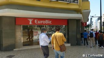 Portugal EuroBic Bank in Lissabon