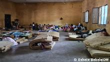 Amhara Region, Ethiopia 19.Juni 2021. IDPs sheltered in Shewa Robit town.