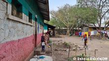 Amhara Region, Ethiopia 19.Juni 2021. IDPs sheltered in Sanbatee primary School.