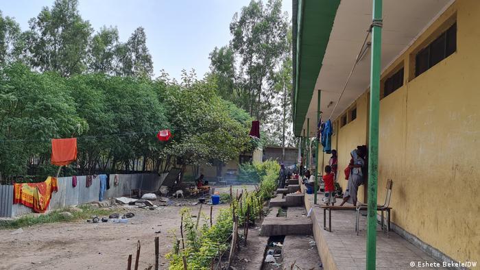 Äthiopien Grundschule Sanbatee