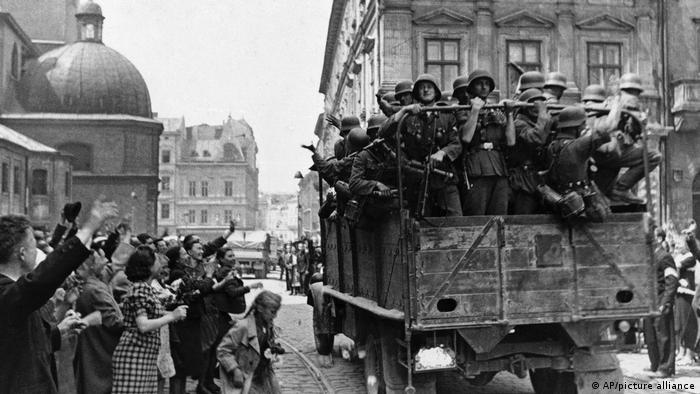 Вхід додаткових німецьких підрозділів до Львова, 2 липня 1941 року
