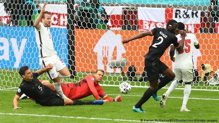 Четветьфинал Германия - Англия