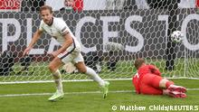 Soccer Football - Euro 2020 - Round of 16 - England v Germany - Wembley Stadium, London, Britain - June 29, 2021 England's Harry Kane celebrates scoring their second goal Pool via REUTERS/Matthew Childs