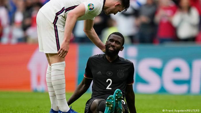 Alemania cayó en Wembley y se despidió de la Eurocopa.