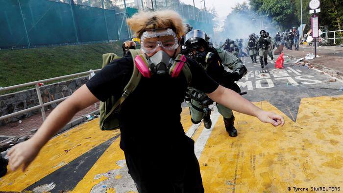 Hongkong Protest Menschenrechte