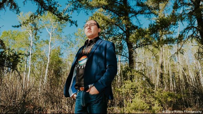 Kanada Indigene First Nations Dustin Ross