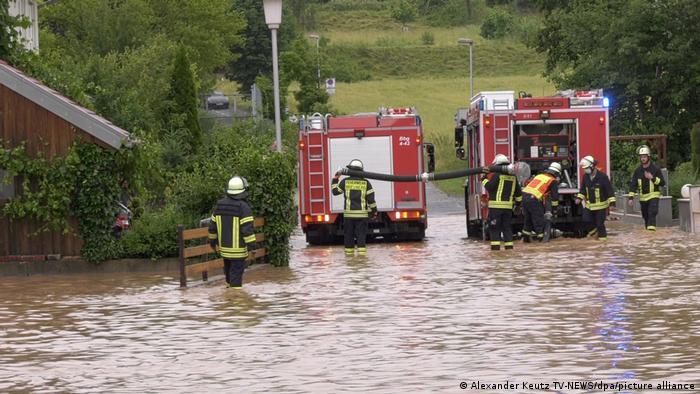 Unwetter in Deutschland | Breuberg (Odenwald)