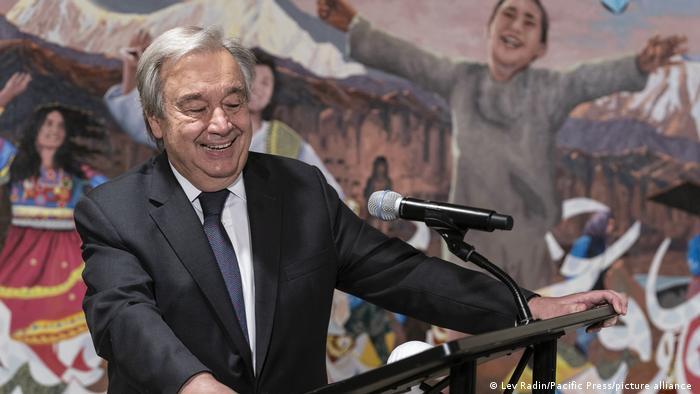 آنتونیو گوترش سرمنشی سازمان ملل متحد