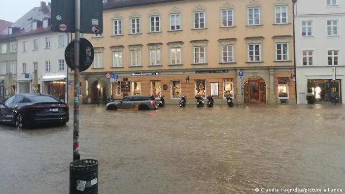 Unwetter in Deutschland | Landshut