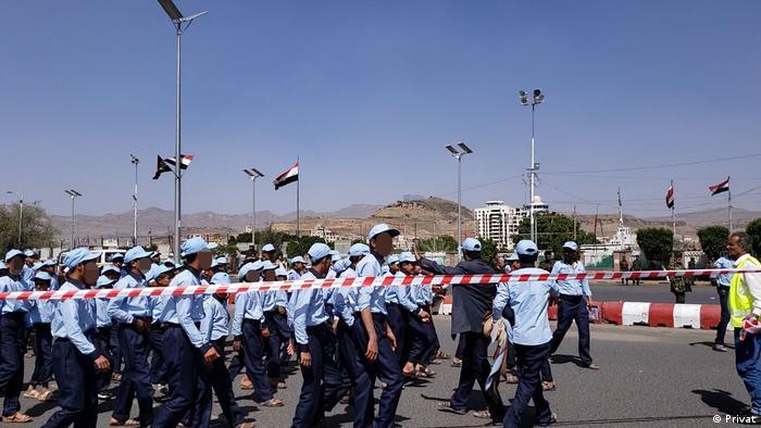 Jemen Sanaa Kindersoldaten