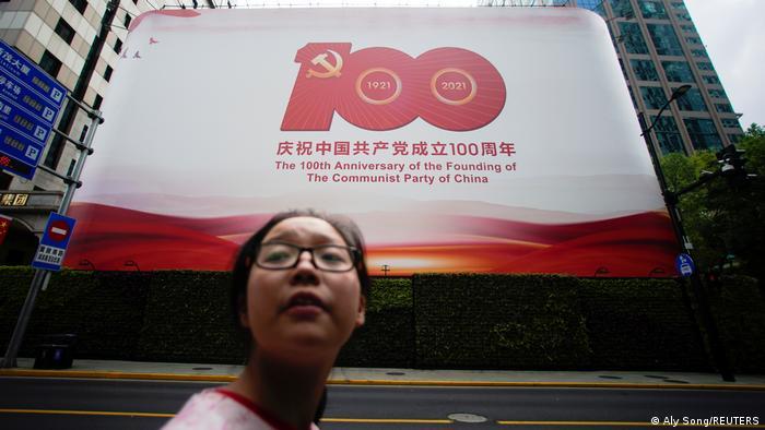 China 100. Jahrestag Kommunistische Partei |Shanghai