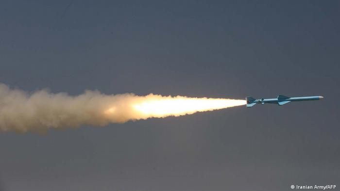 یکی از موشکهای ساخت جمهوری اسلامی ایران