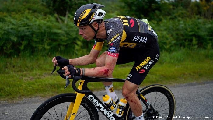 Tour de France 1. Etappe Tony Martin verletzt