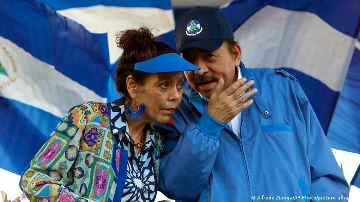Nicaragua | Daniel Ortega und Rosario Murillo